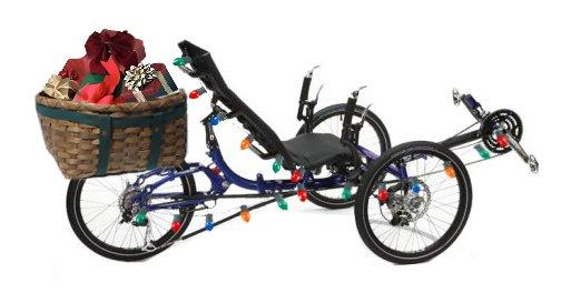 Christmas trike