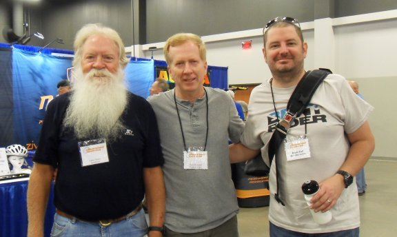 Dave with Larry and Bryan of BentriderOnline