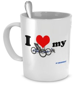 Love your trike? Click the cup!